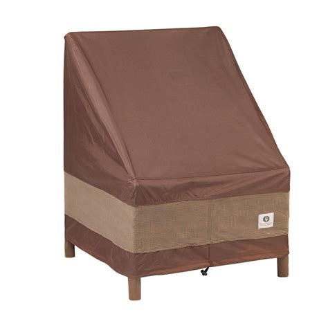 Stacking Patio Chair Covers Duck Covers Ultimate 28 In W Stackable Patio Chair Cover Uch283049 The Home Depot