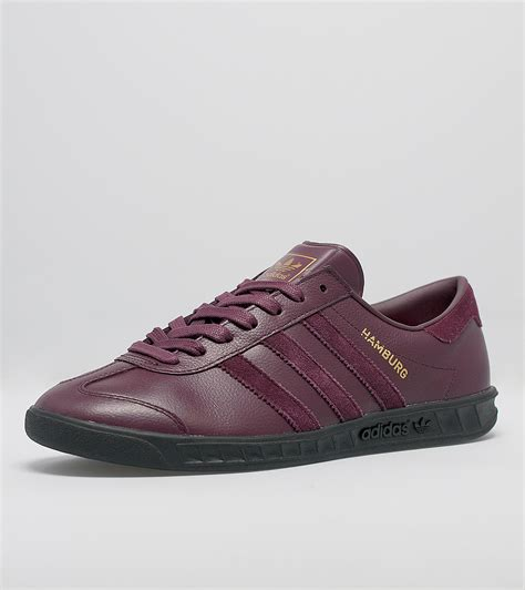 adidas hamburg black adidas originals hamburg size exclusive maroon black