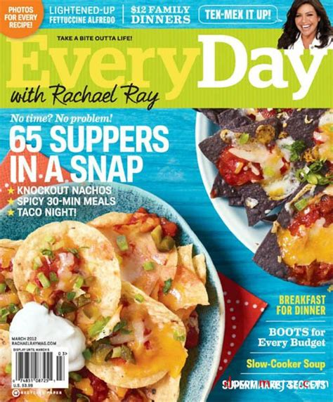 Rachael Ray Magazine Sweepstakes - free subscription to everyday with rachael ray magazine