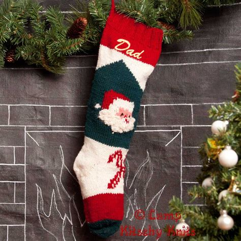 knitting pattern for personalised christmas stocking knitted christmas stockings personalized by ckitschyknits