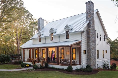 a delightful modern farmhouse with southern charm in