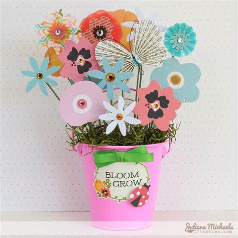 Paper Flower Garden Paper Flower Bouquet Pebbles Inc