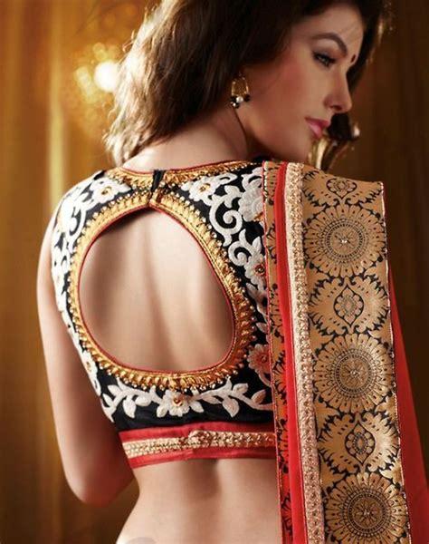 Beautiful Saree Blouse Designs 2018 For Wedding