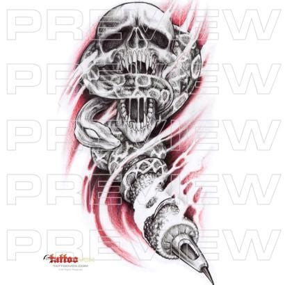 machine gun tattoo designs tattoovox award winning designs winged