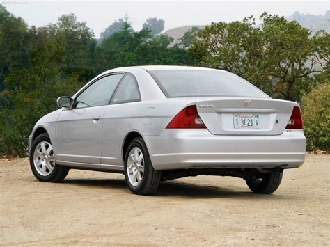 2003 Honda Civic Coupe by 2003 Honda Civic Ex Coupe Rear End Stock Photo Exterior