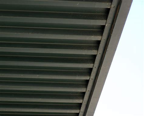 Awning Gutter by Commercial Awning