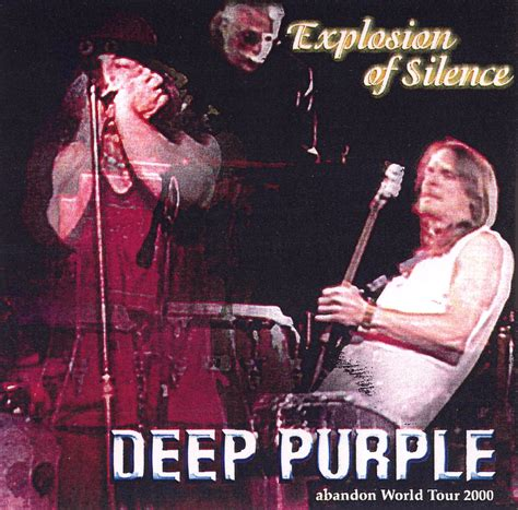 Cd Violet Into The Silence copertina cd purple explosion of silence live yokohama 28 03 2000 front cover cd