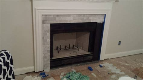 Getting Hearth Tiles Flush With Flooring   Tiling