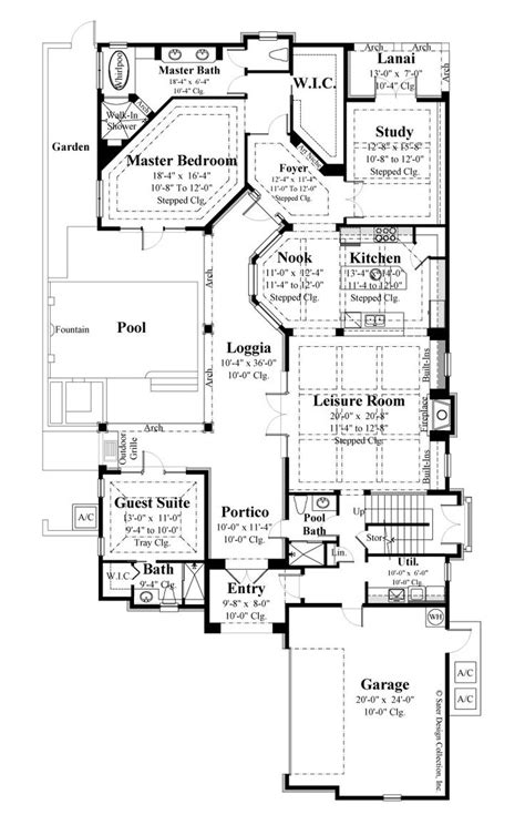 french style floor plans collections of country style open floor plans free home