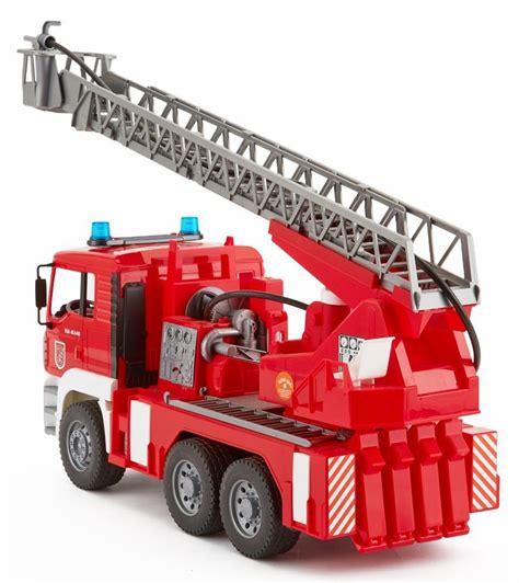 bruder fire truck bruder man tga fire engine