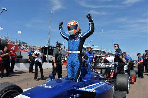 Edward Starts Indy Lights Career With Two Victories Jones Lights