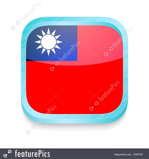 Taiwan Phone Number Lookup Flags Smart Phone Button With Taiwan Flag Stock Illustration I3787787 At Featurepics
