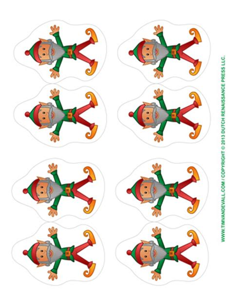 printable paper elf paper elves tim van de vall