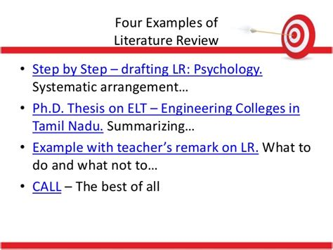 Review Of Related Literature Qualitative Research by Systematic Literature Review In Psychology