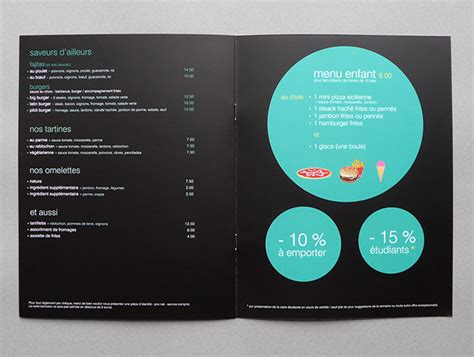sle restaurant brochure le i restaurant on behance