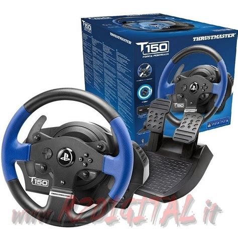 volante thrustmaster ps3 volante pedali thrustmaster t150 rs pc ps3 ps4 pedaliera