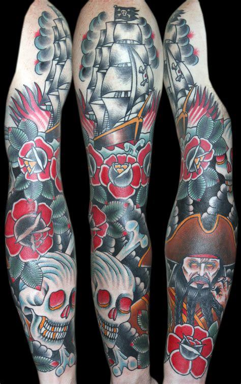traditional tattoo sleeve myke chambers idiocracy artist magazine