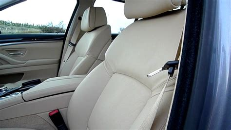 bmw f10 comfort seats new bmw 5 series seats youtube