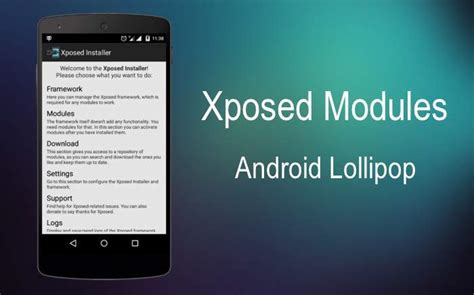 android xposed xposed for android 5 1 lollipop unofficial port