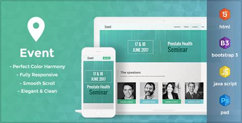 themeforest event event html landing page template by alphapix themeforest