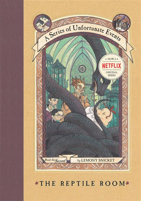 a second books a series of unfortunate events 2 the reptile room by
