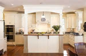 Kitchen Island With Columns Islands With Pillars Kitchen Island With Columns And Arch Ideas For The House