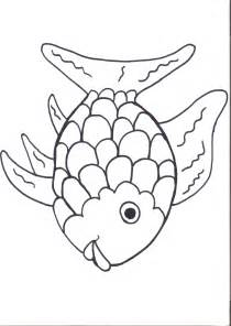 Rainbow Fish Outline Page by Aug Preschool Themes Preschool Activity Ideas Child Care Information