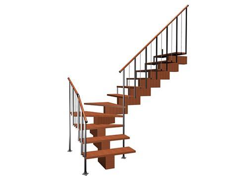 quarter landing stairs quarter landing staircase 3d model 3ds max files free modeling 23568 on cadnav