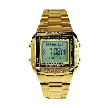 Jam Tangan Casio Rm jual casio db361 gold jam tangan unisex jam tangan wanita harga kualitas terjamin