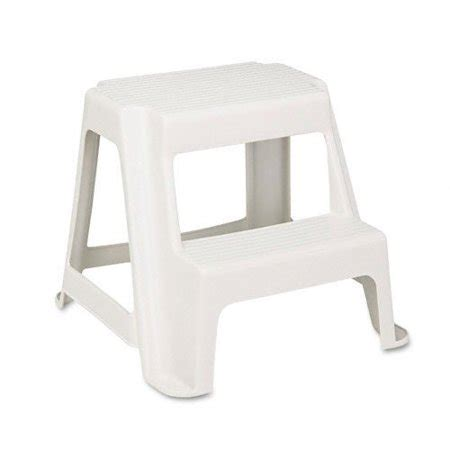 Rubbermaid Two Step Step Stool by Rubbermaid Two Step Stool 2 Step 300 Lb Load Capacity