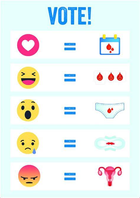 imagenes de emoji facebook ya existe un emoji que explica nuestro ciclo menstrual