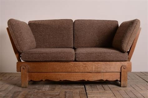 bed settees 1930 s heals oak bed settee 277333 sellingantiques co uk