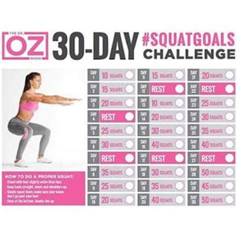 Sugar Detox Challenge Today Show by 17 Best Ideas About 30 Squat Challenge On