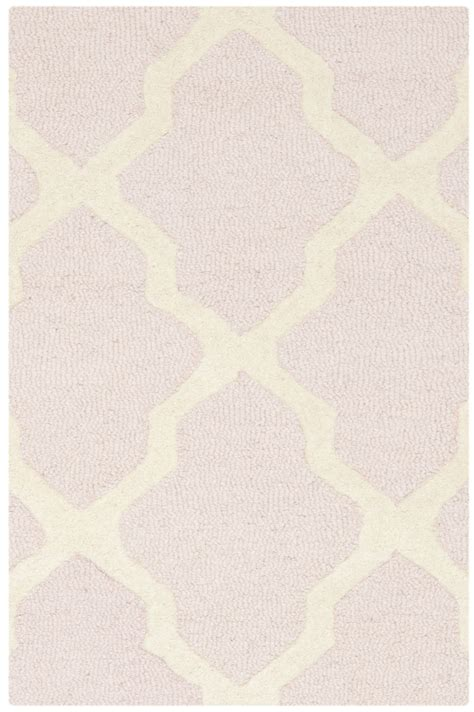 light pink wool rug safavieh cambridge light pink ivory wool contemporary