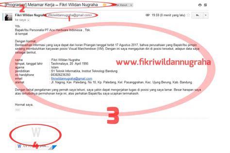 mengirim lamaran cv lewat email mudah diterima kerja
