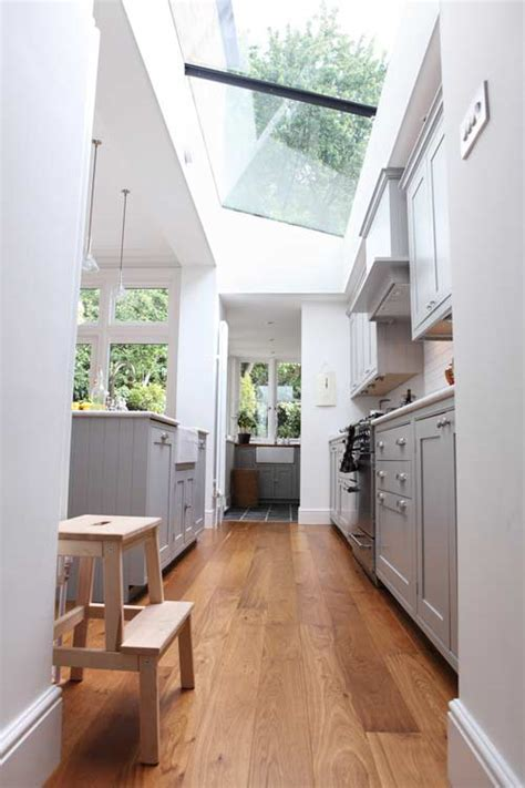 Galley Kitchen Extension Ideas Sneak Peek Michael Adamo Design Sponge