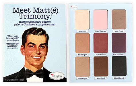 Murah The Balm America Meet Matte Eyeshadow Palette the balm meet matt e trimony eyeshadow palette consumer reviews
