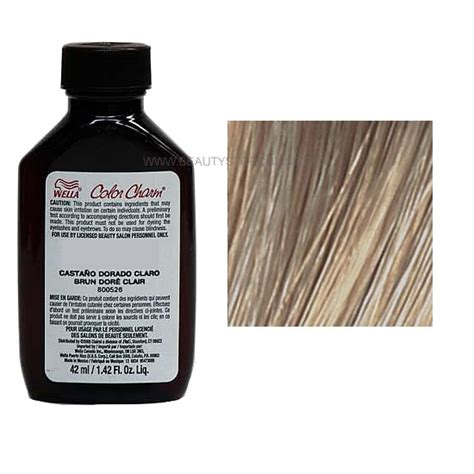 7a hair color wella color charm liquid 7a 672 medium smokey ash