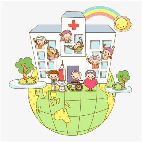 imagenes animadas hospital hospital dibujos animados hospital el personal m 233 dico