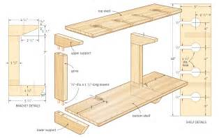 woodwork wood shop shelf plans pdf plans