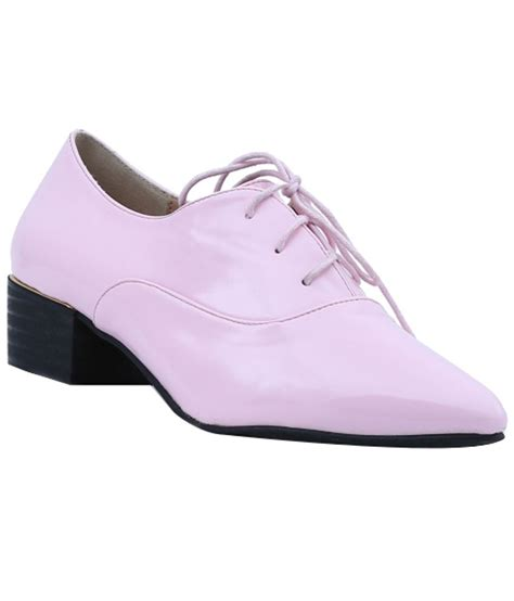 shuberry gorgeous pink formal shoes price in india buy