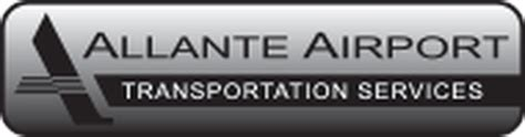 limo transportation services limousine allante airport transportation services