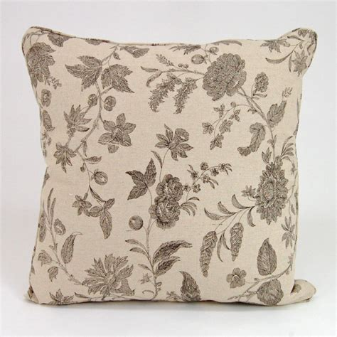 Floral Decorative black floral decorative pillow 18 quot square ebay
