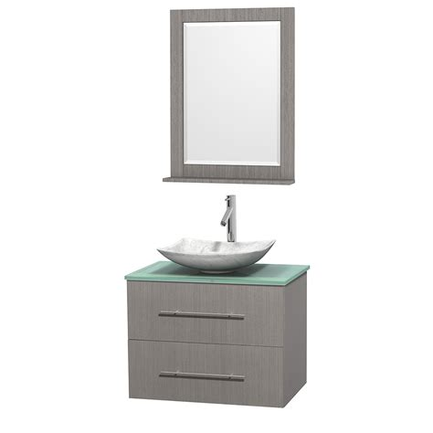 centra 24 in single vanity in white with solid surfacetop wyndham collection wcvw00930sgogggs6m24 centra 30 inch