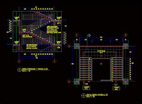 veranda yapımı 2d merdiven projeleri kategorisi autocad projeleri 59894