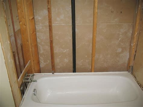 mortar for bathtub install how to install cement board in bathroom how to install