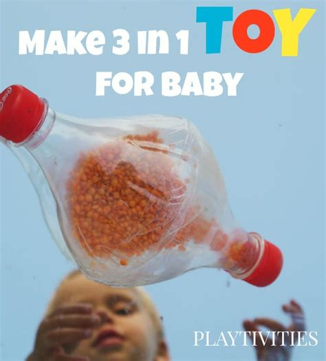 How To Make Handmade Toys - 3 in 1 baby playtivities