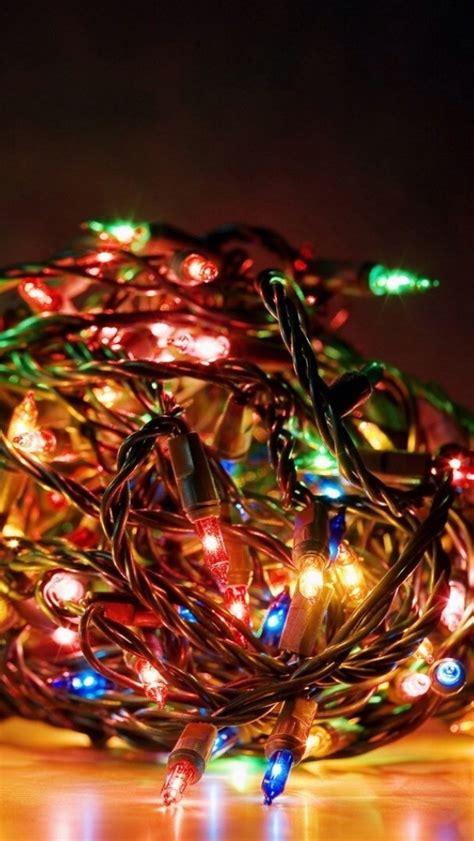 Bundle Of Lights Iphone 5 Wallpaper 640x1136