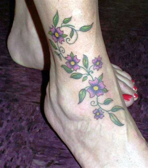 36 elegant vine tattoos flower rose vines