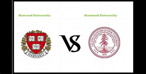 Stanford Mba Harvard Mpp by Harvard Mba Vs Stanford Mba Which Is Best Business School